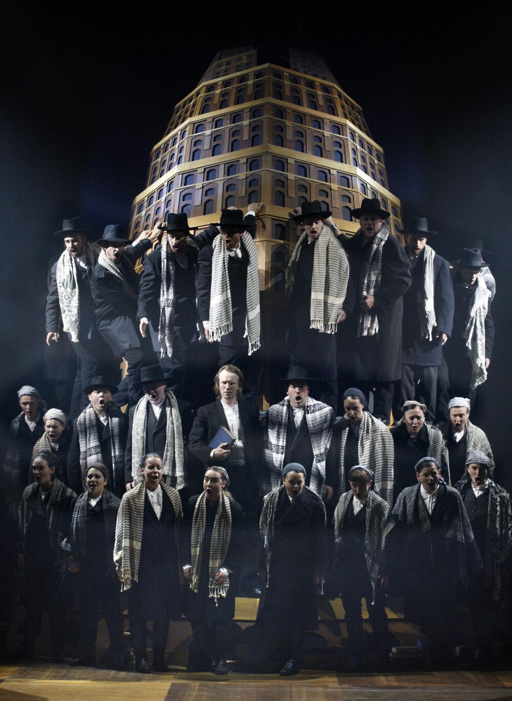 James Laing - Daniel | The Choir of The Sixteen | The Grange Festival Chorus | Photo © Simon Annand}