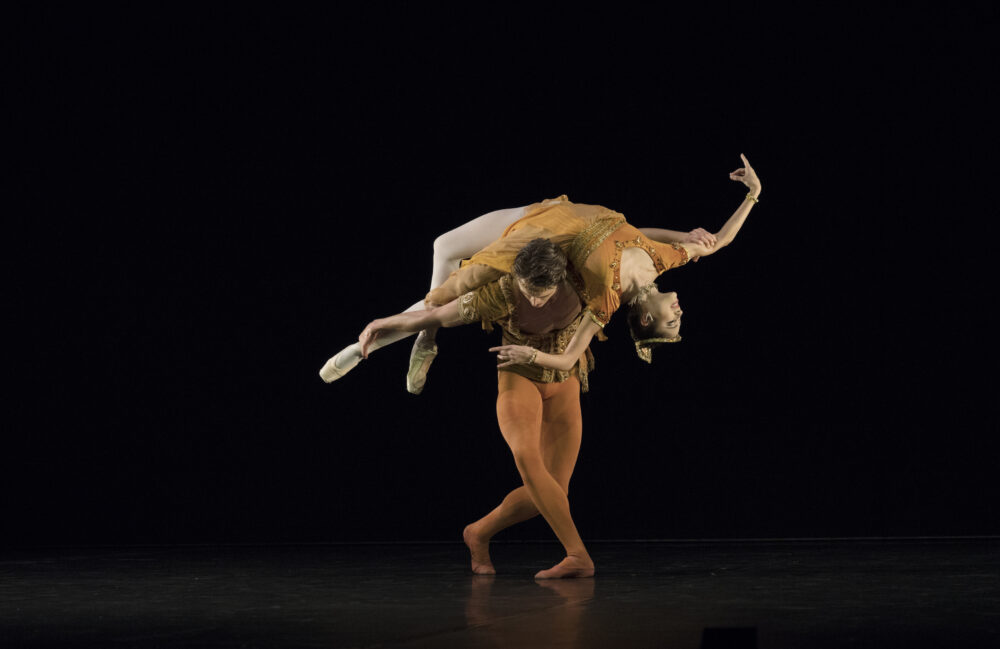 Beatriz Stix-Brunell - The Royal Ballet | Matthew Ball - The Royal Ballet | Meditation from Thais |  Choreography - Frederick Ashton | Photo © Ravi Deepres/Alicia Clarke}