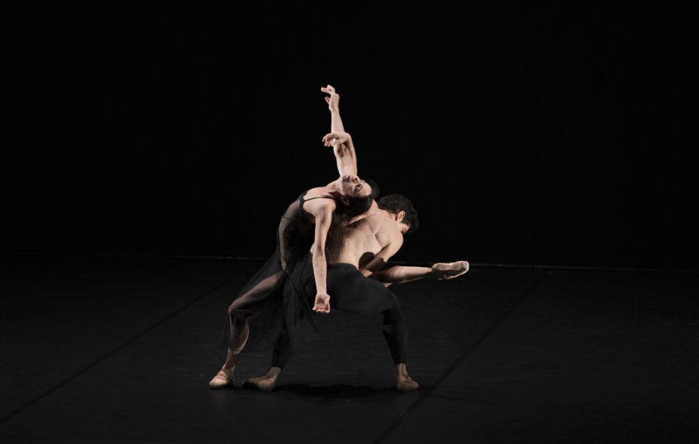 Alessandra Ferri - Guest Artist | Federico Bonelli - The Royal Ballet | A duet from Woolf Works | Choreography - Wayne McGregor | Photo © Ravi Deepres/Luke Unsworth}