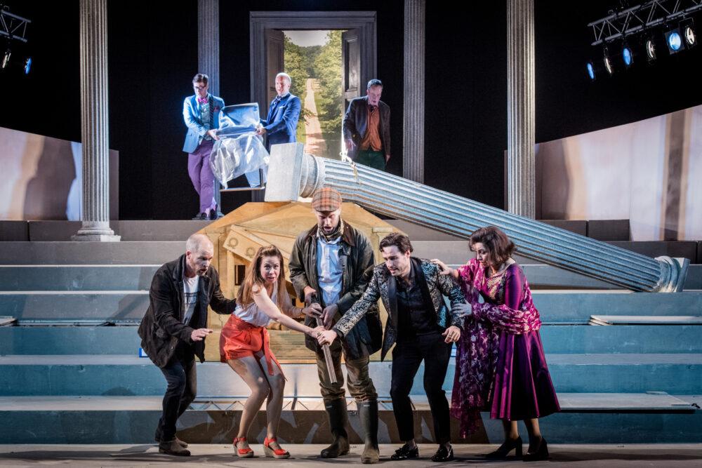 The Cast of Agrippina | Photo © Robert Workman}