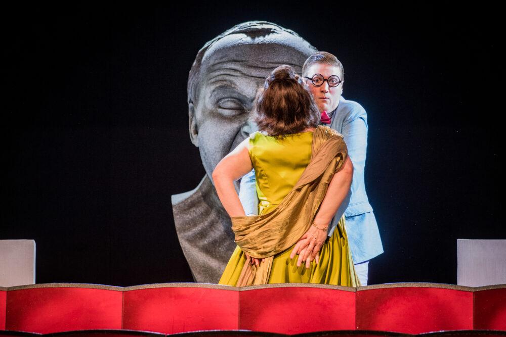 Anna Bonitatibus - Agrippina | James Hall - Narciso | Photo © Robert Workman}