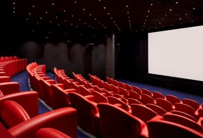 Soho hotel screening room