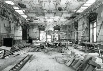 6 Orangery before the first theatre